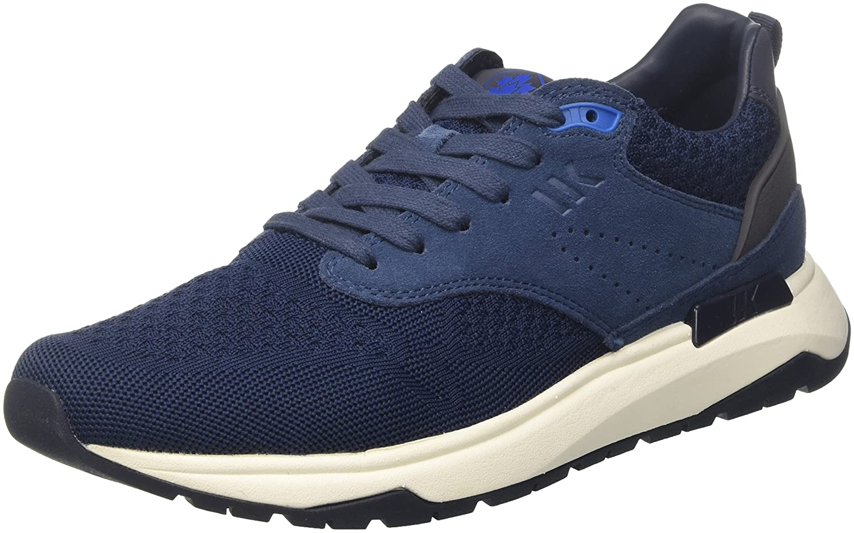 Lumberjack Detroit, Zapatillas para Hombre 40 EU|Azul (Navy Blue/Sky M0325)