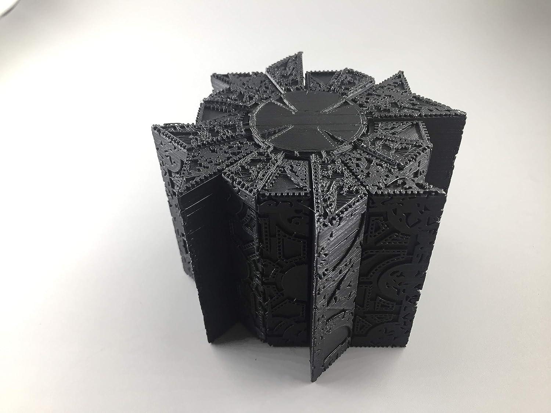 Black hellraiser pin head puzzle box 1:1 working replica