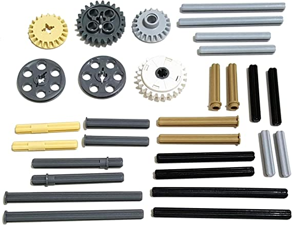 Tan 12T Differential, NXT, EV3 25 x Bevel Gear Pack LEGO Technic New -