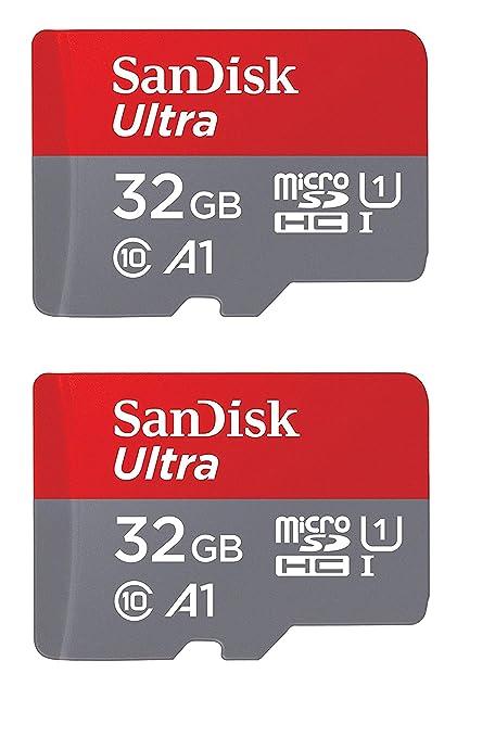 5ee4271c519 Amazon.com  SanDisk 32GB X2 (64GB) MicroSD HC Ultra Uhs-1 Memory Card