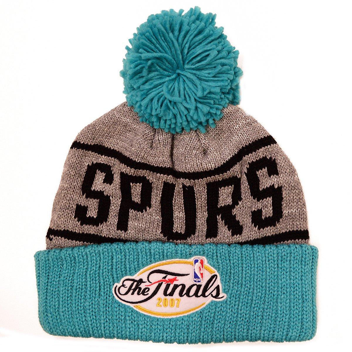 Mitchell /& Ness NBA San Antonio Spurs Championship Knit Hat