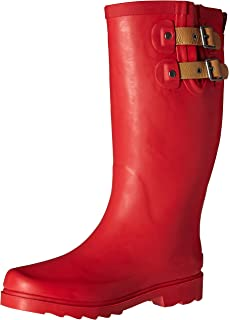 Amazon.com | Chooka Women's Top Solid Rain Boot | Mid-Calf