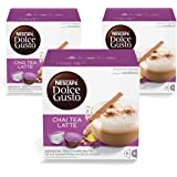 Nescafe Dolce Gusto Chai Tea Latte Coffee (48 Capsules, 24 Cups)