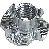 BB Sport T-Tuerca acero galvanizado M 10 x 13 x 25 mm por presas de escalada elige tamaños, Cantidad:100 piezas