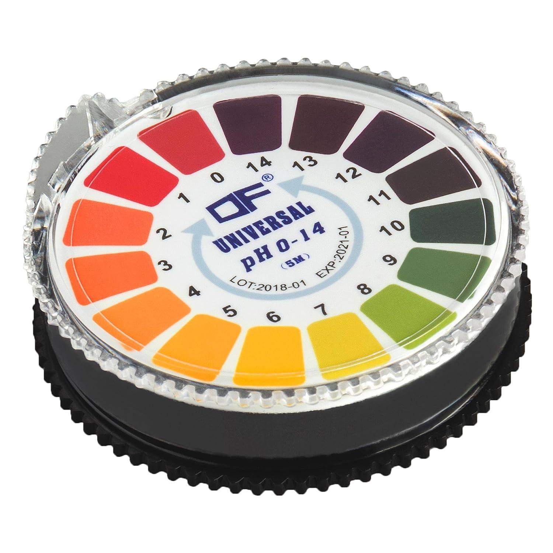 ecence Indicateur Bandes de test pH Test dé cisif Papier de Papier de tournesol Acide Alkaline Plage de mesure 4, 5– 9, 0 5-9 4260545432445