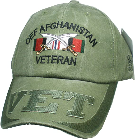d6aad063ca5a2 Amazon.com  United States Afghanistan Veteran Hat for Men and Women ...
