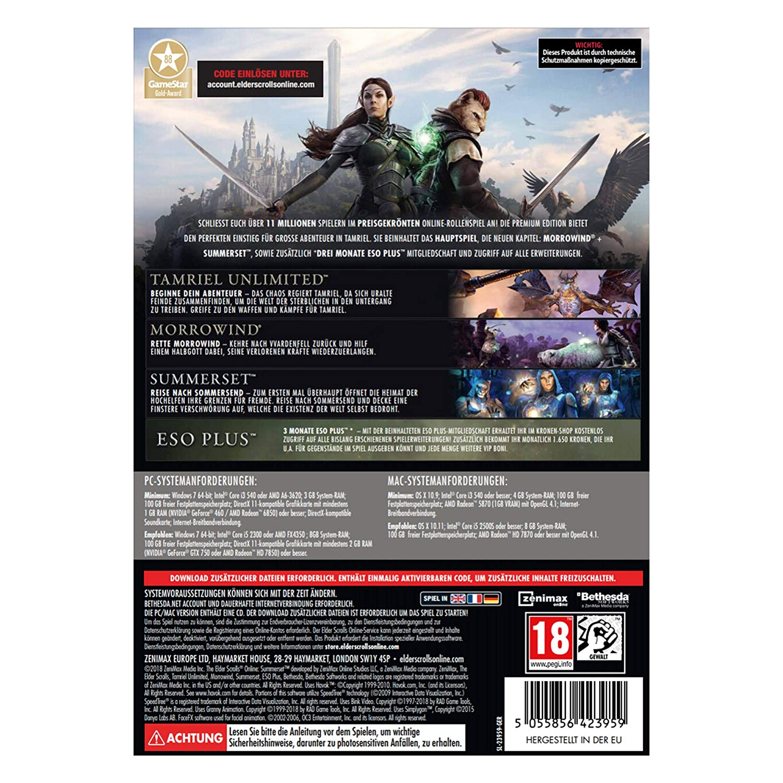 The Elder Scrolls Online: Premium Edition - Premium Edition [PC