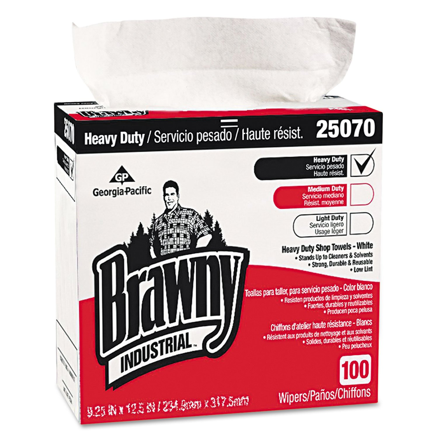 Amazon.com: Brawny 25070CT Heavy-duty Shop Towels, 9-1/10
