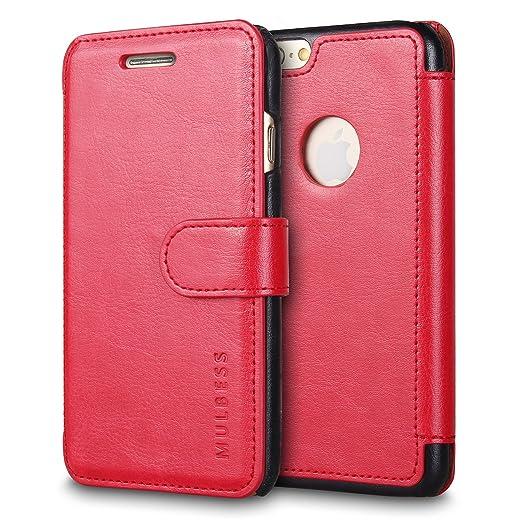 376 opinioni per Custodia iPhone 6s Plus- Cover iPhone 6s Plus- Mulbess Custodia In Pelle Con