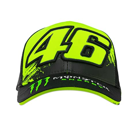 Valentino Rossi VR46 Moto GP Monster Energy Replica Berretto Ufficiale 2018 7a257b50da5c
