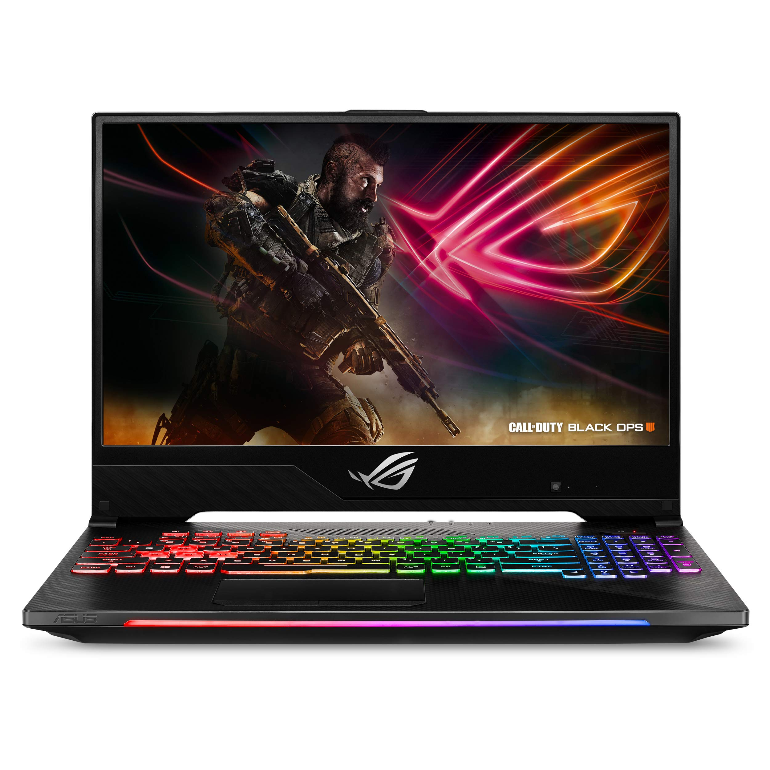 "ASUS ROG Strix SCAR II Slim Gaming Laptop GL504, 15.6"" 144Hz IPS Type, NVIDIA GeForce GTX 1070, Intel Core i7-8750H Processor, 16GB DDR4, 256GB PCIe SSD + 1TB SSHD, Windows 10 Home - GL504GS-DS74"