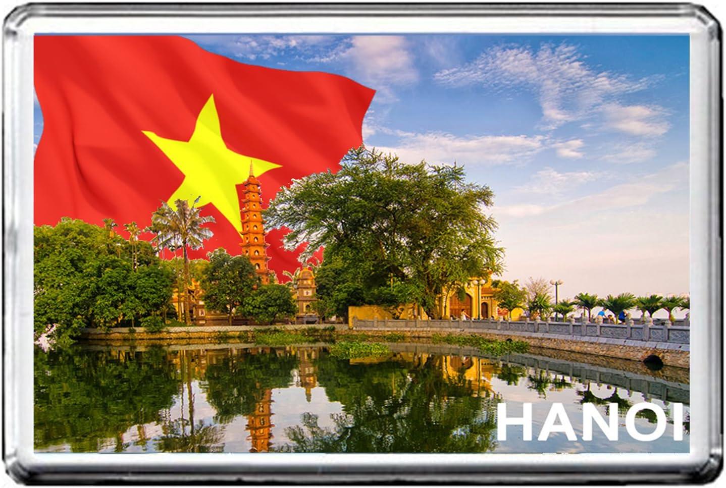 HANOI AIMANT POUR LE FRIGO 003 THE CAPITAL CITY OF VIETNAM REFRIGERATOR MAGNET