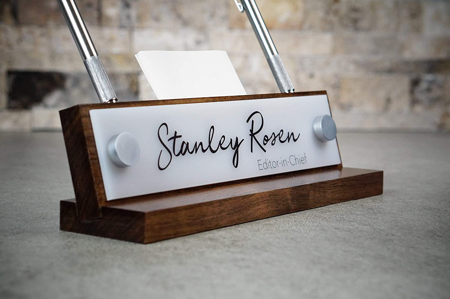B016CN8RRQ Personalized Desk Name Plate - makes a great Co-Worker Gift 811Wq3sF7oL