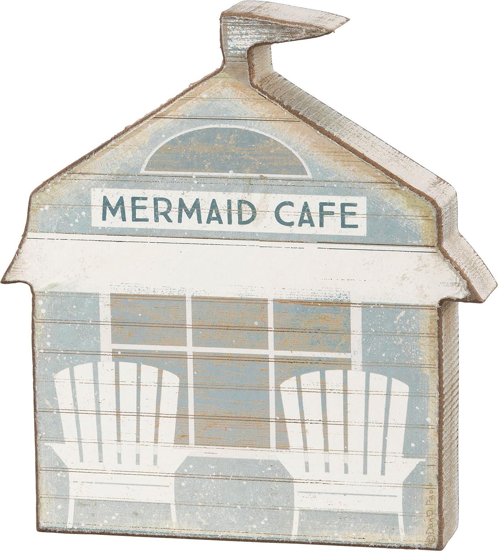Primitives by Kathy Mermaid Café Sitter Home Decor