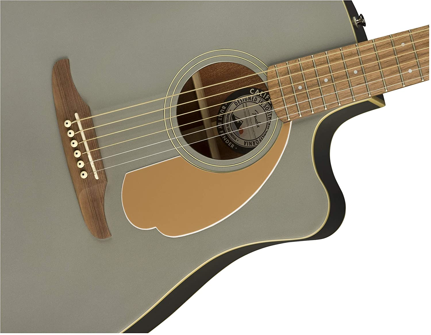Full 970713543 Right Fender 6 String Acoustic-Electric Guitar