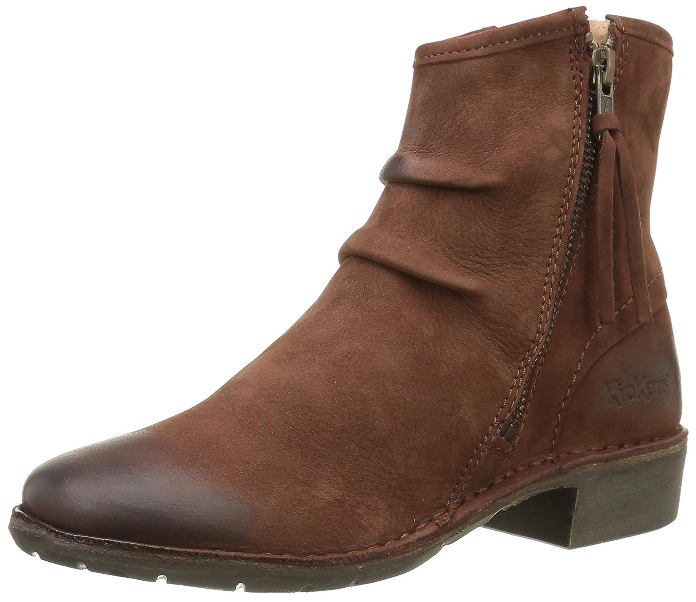 Kickers Groove Soft, Zapatillas de Estar por Casa para Mujer41 EU|Marrón