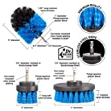 6Piece Drill Brush Attachment Set Scouring Pads