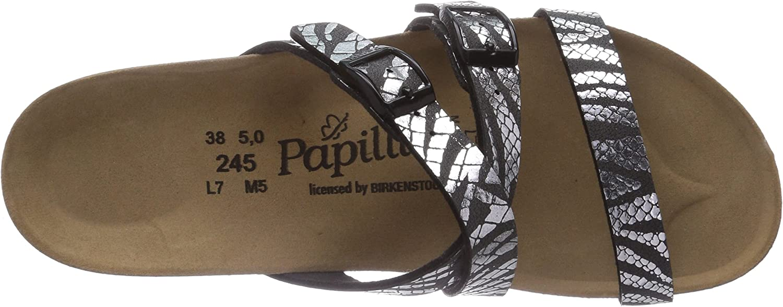 PAPILLIO BY BIRKENSTOCK Allegra 38 schmal zebra black silver