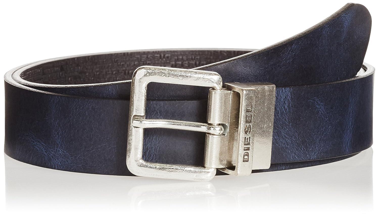 (ディーゼル) DIESELメンズ リバーシブル ベルト - B-TWIN - belt B01F1YCD6S 95 ブルー ブルー 95