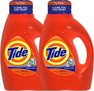 Tide HE Liquid Detergent - 50 oz - Original - 2 pk