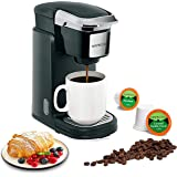 Mixpresso Single Cup Coffee Maker | Personal, Single Serve Coffee Brewer Machine, Compatible with Single-Cups | Quick Brew Te