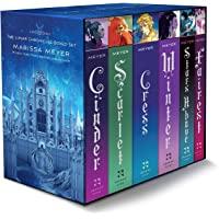 The Lunar Chronicles Boxed Set: Cinder, Scarlet, Cress, Fairest, Stars Above, Winter