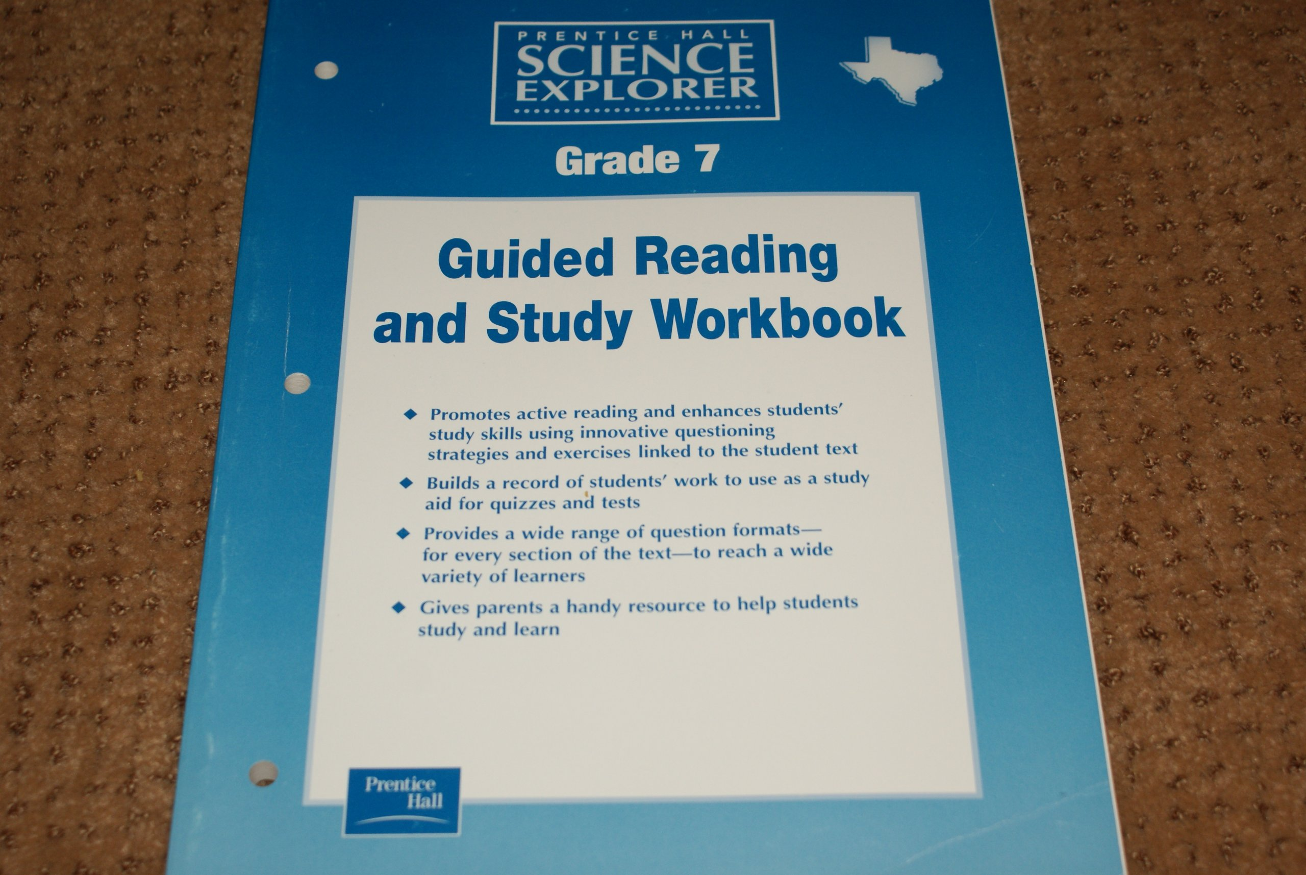 Prentice Hall Science Explorer Guided Reading and Study Workbook