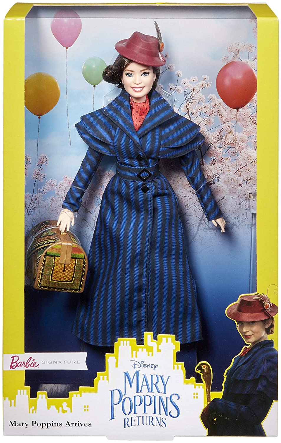 d4bb0c147d0 Amazon.com  Barbie Disney Mary Poppins Arrives Doll  Toys   Games