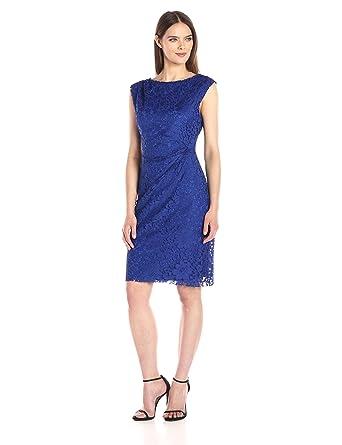7fe4aee78fa98 Betsey Johnson Women's Lace Sheath Dress: Amazon.in: Clothing ...