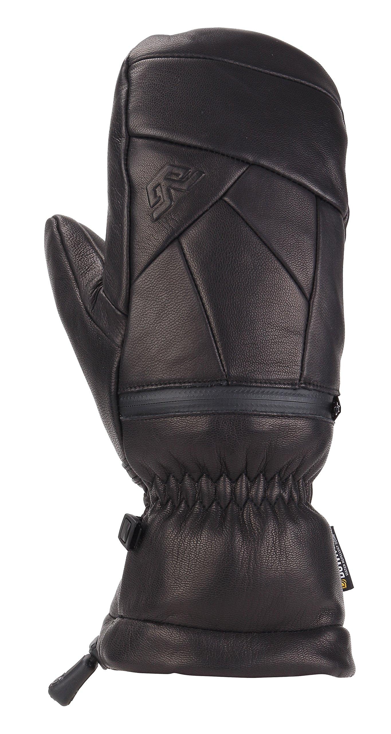 Gordini Women's Women's Leather Goose Iv Insulated Mittens, Black, Medium by Gordini