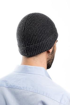 Dalle Piane Cashmere - Cappello 100% cashmere - Uomo c8f621233c66