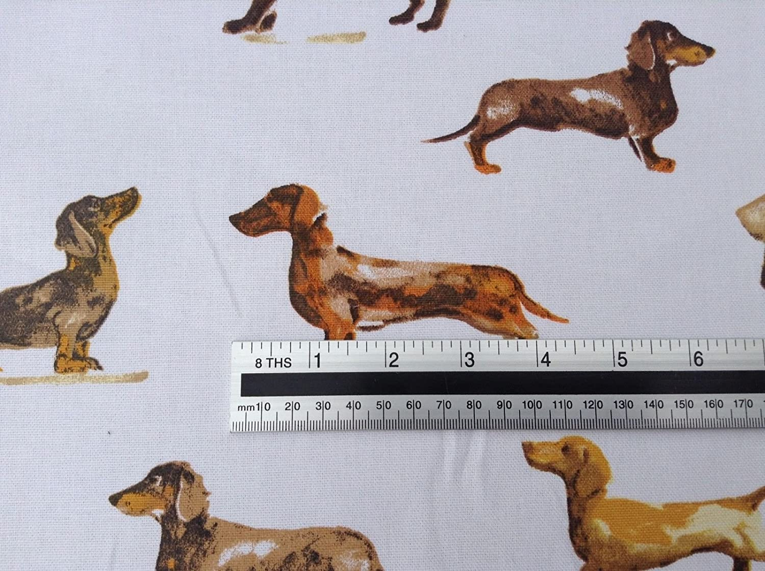 prestigious textiles daxi dog design fabric 100/% cotton curtain blind upholstery