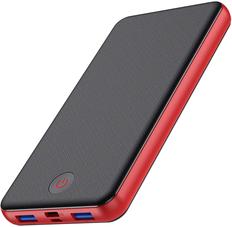 【18W PD QC 3.0 Carga rápida】HETP Power Bank 26800mAh Batería Externa Móvil,【Último Control Inteligente-IC】Powerbank con 3 Salidas y 2 Entradas Typo-C Cargador Portátil para Smartphones Tabletas y Más