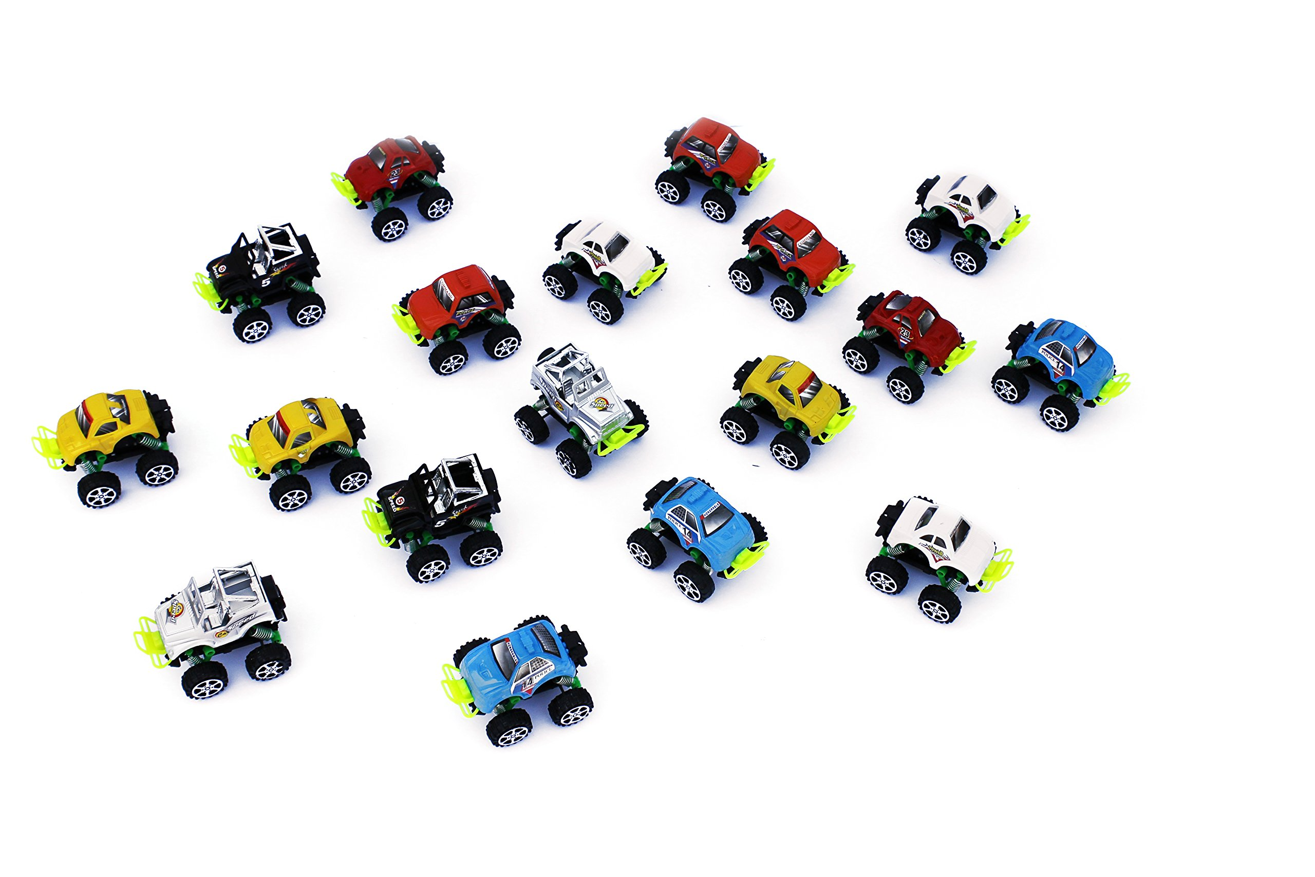 36 Pieces Trucks Assortment toys-For kids Party Favor-Birthday Party-School Classroom Rewards,Carnival Prizes,Pinata by realtoys