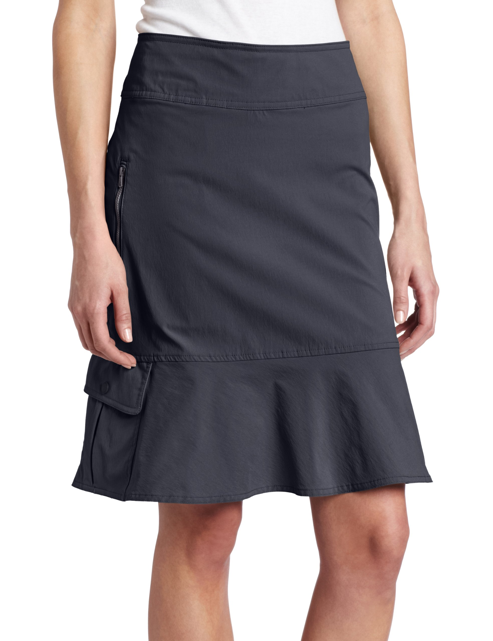 Royal Robbins Women's Discovery Skirt, Jet Black, 2
