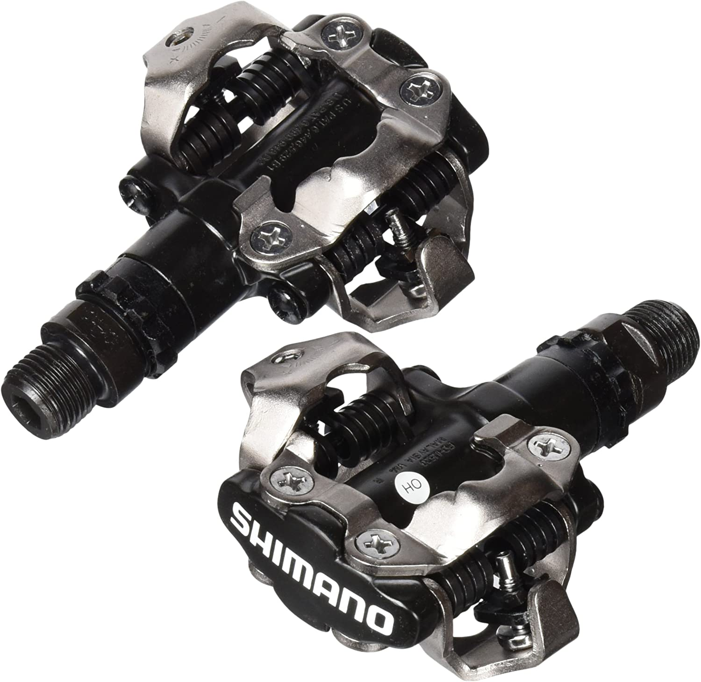 SHIMANO E-PDM520 - Pedales para Bicicleta de montaña
