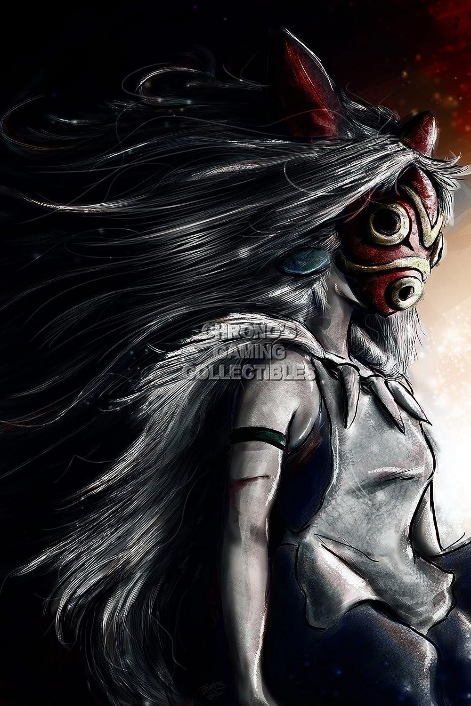 "CGC Huge Poster - Princess Mononoke Movie Poster Studio Ghibli - STG032 (24"" x 36"" (61cm x 91.5cm))"