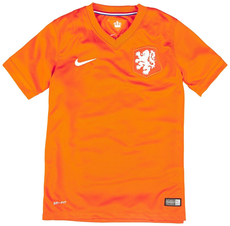 NIKE Netherlands 2014 Stadium Junior Soccer Shirt