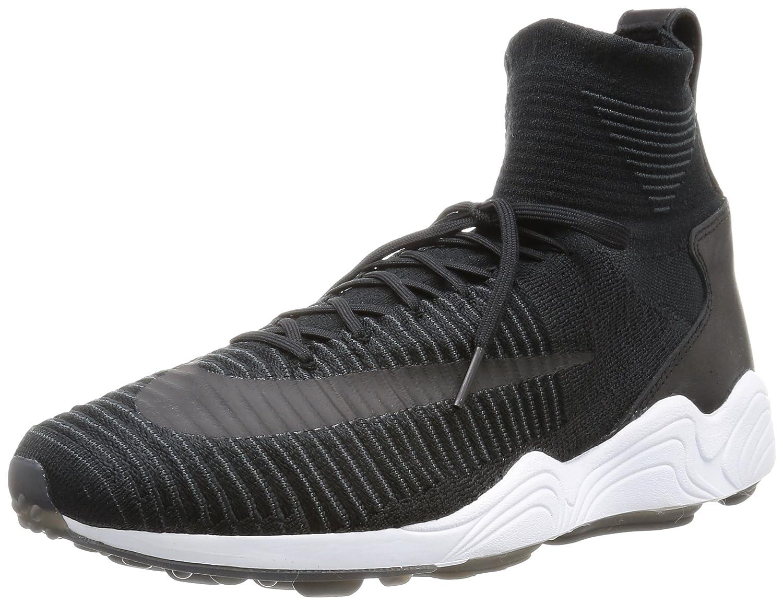 NIKE Zoom Mercurial xi FK - Football Schuhe, Herren, Farbe Schwarz (schwarz schwarz-Weiß-Anthracite), Größe 44