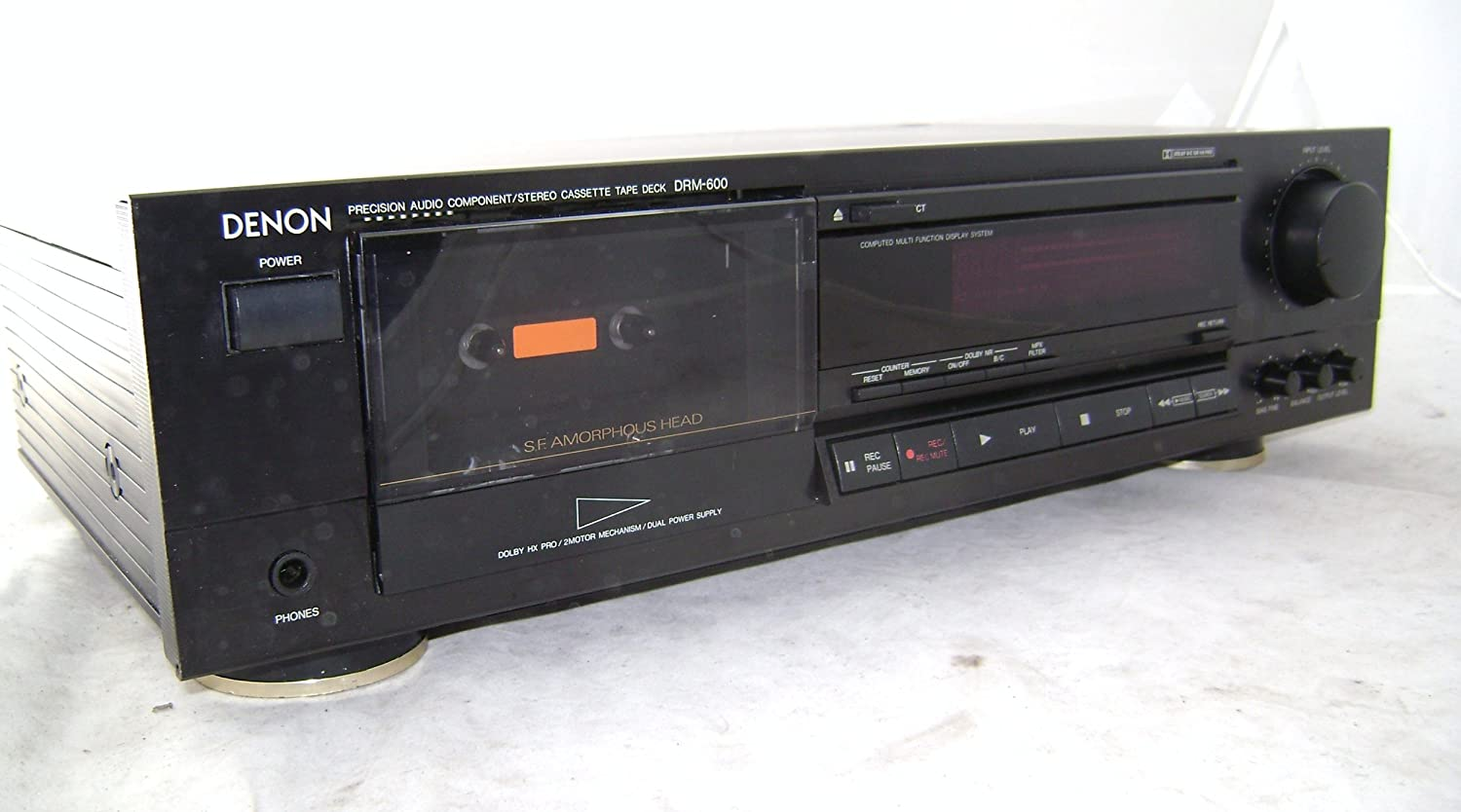 Denon Cassette deck DRM-600 tape player: Amazon co uk: Electronics