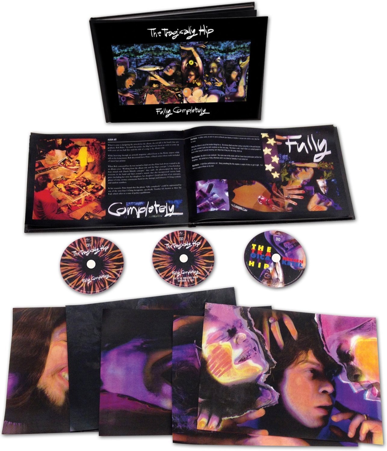 CD : The Tragically Hip - Fully Completely [explicit Content] (With DVD, Deluxe Edition, 3PC)