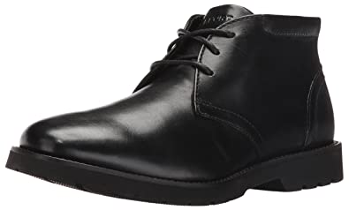 Rockport Men's Hadden Chukka Boot- Black-7 W