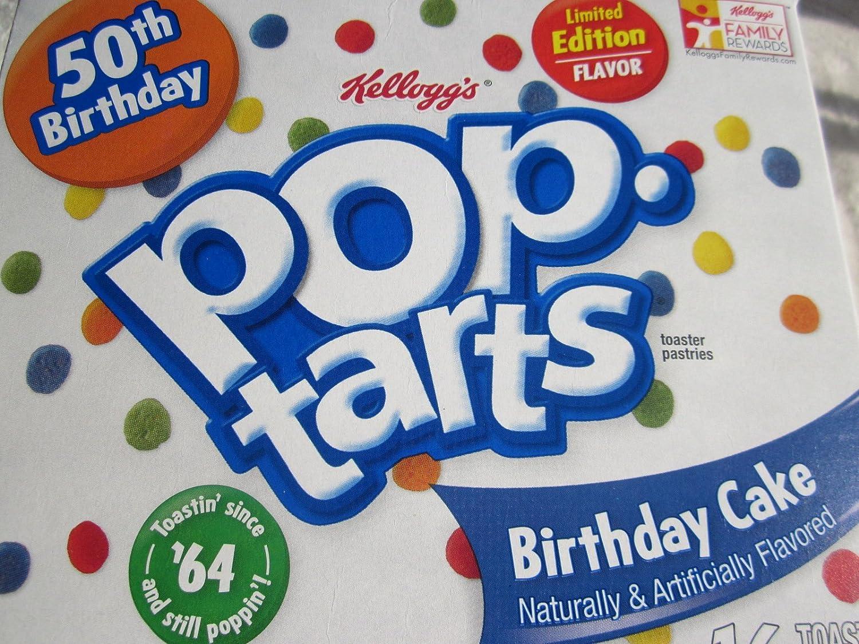 Amazon.com: Kellogg's 50th Birthday LIMITED EDITION FLAVOR Pop Tarts ...
