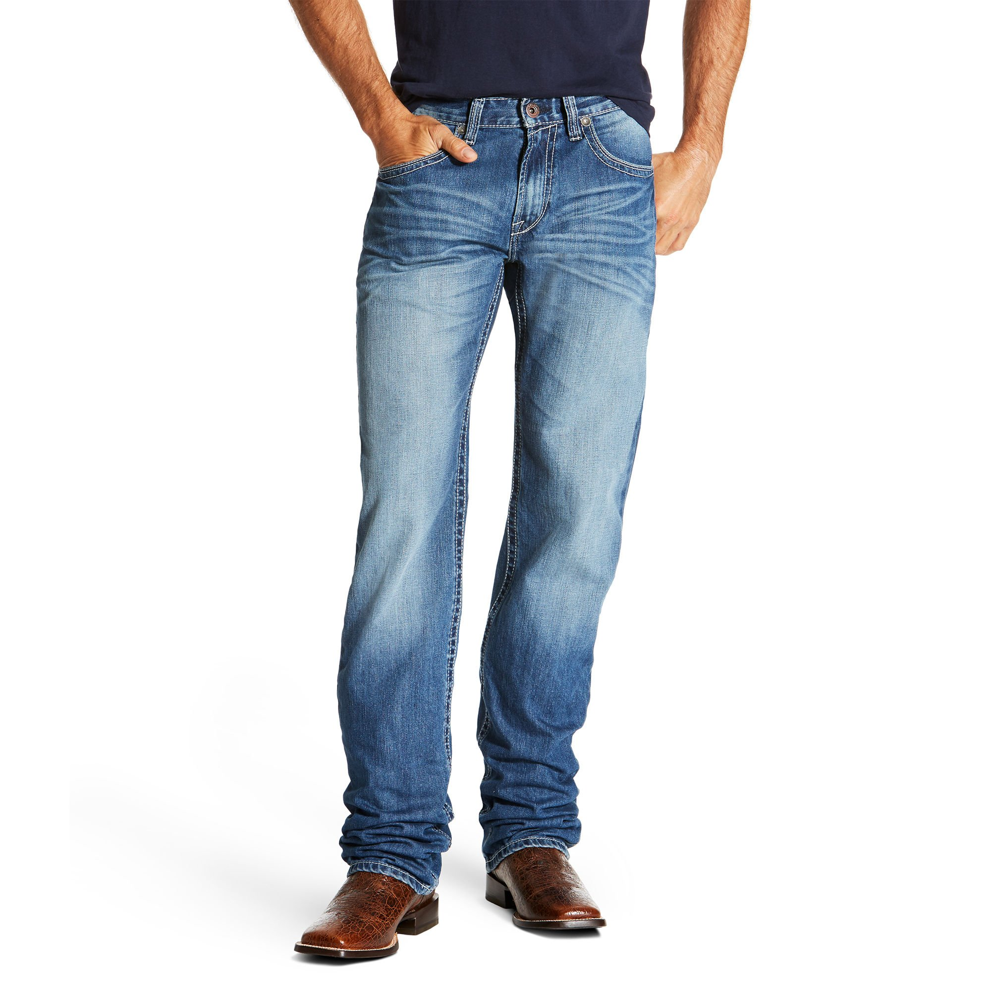 Ariat Men's M2 Relaxed Fit Jean, Cody Midway, 30X32