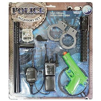 Christys London Set de Accesorios de policía para niños: Amazon.es: Juguetes y juegos