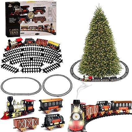 THOMAS the TANK /& FRIENDS-HOLIDAY CHRISTMAS BATTERY AROUND THE TREE SET 2006 NEW