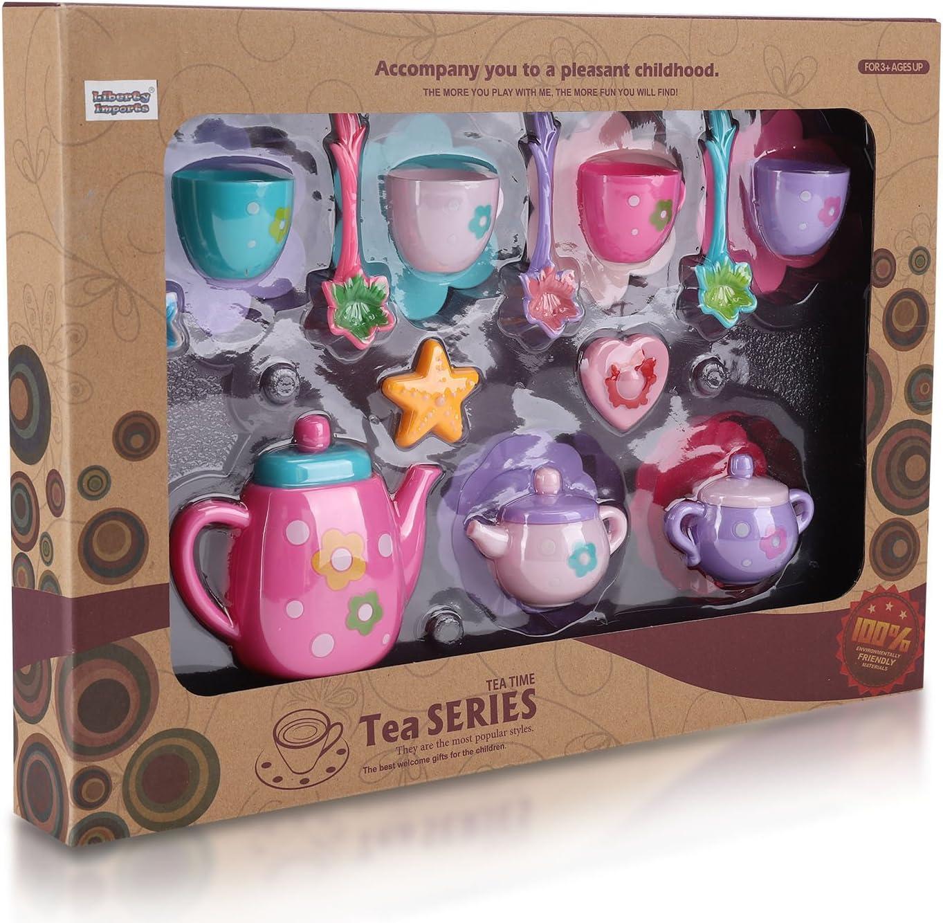 Disney Princess n Me Royal Tea Time Tea set Pretend Play Kitchen Toy Gift
