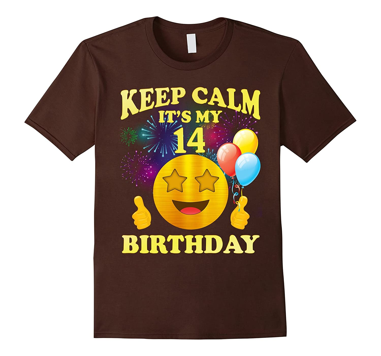 Its My 14th Birthday Shirt 14 Years Old Gift RT