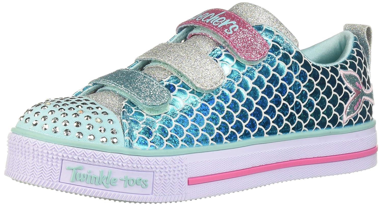 Skechers Mädchen Twinkle Lite Sparkle Scales Sneaker: Amazon
