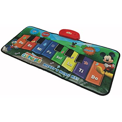 Disney Junior Mickey Mouse Music Mat (packaging may vary): Toys & Games